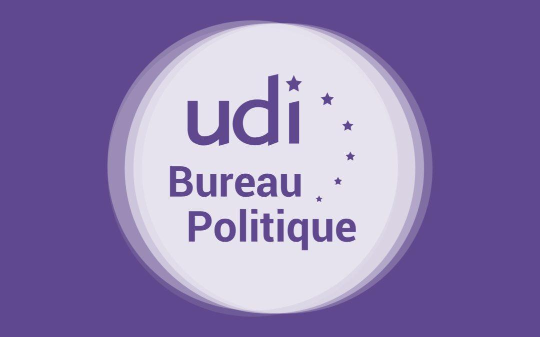 Bureau politique de l'UDI sur la santé