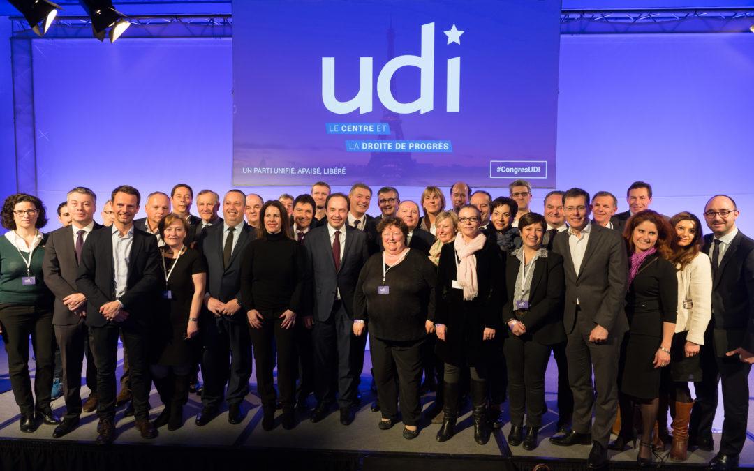 """""""L'UDI est désormais un parti unifié, pacifié, libéré !"""""""