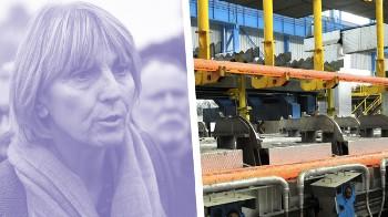 Sauver la sidérurgie française, le combat de l'UDI Valérie Létard
