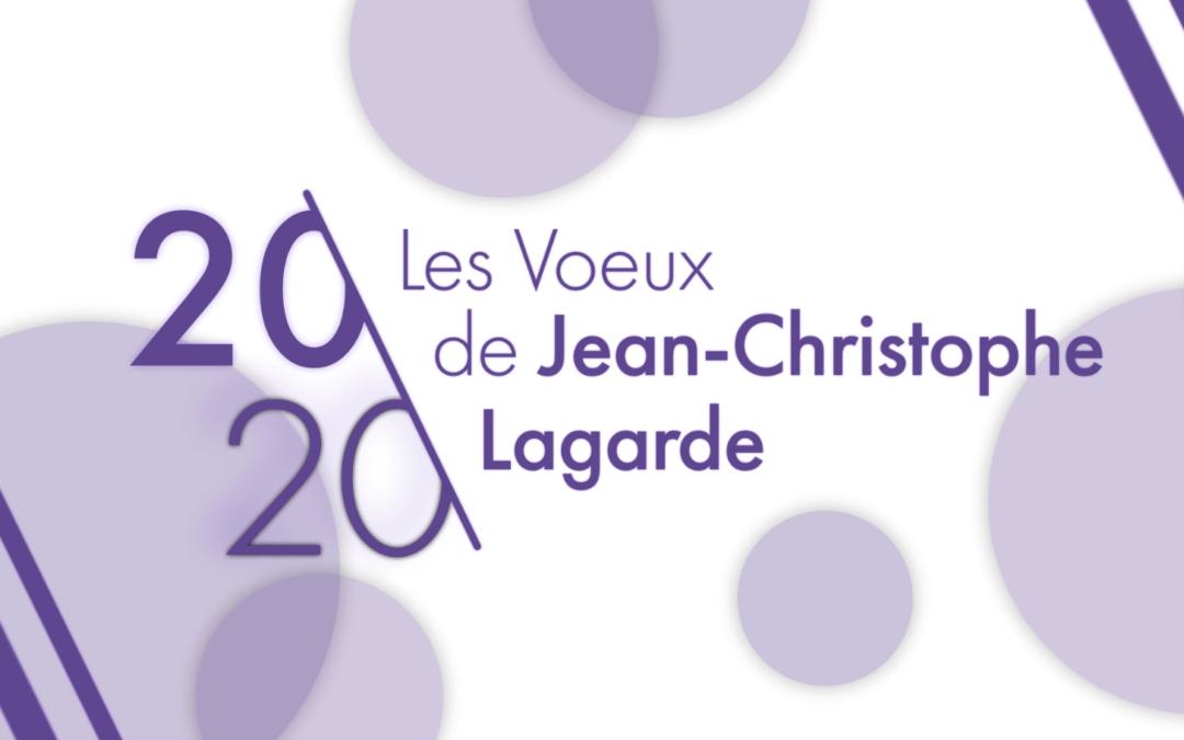 Jean-Christophe Lagarde vous présente ses meilleurs voeux !