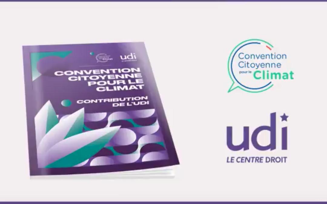 Convention Citoyenne pour le Climat : la contribution de l'UDI