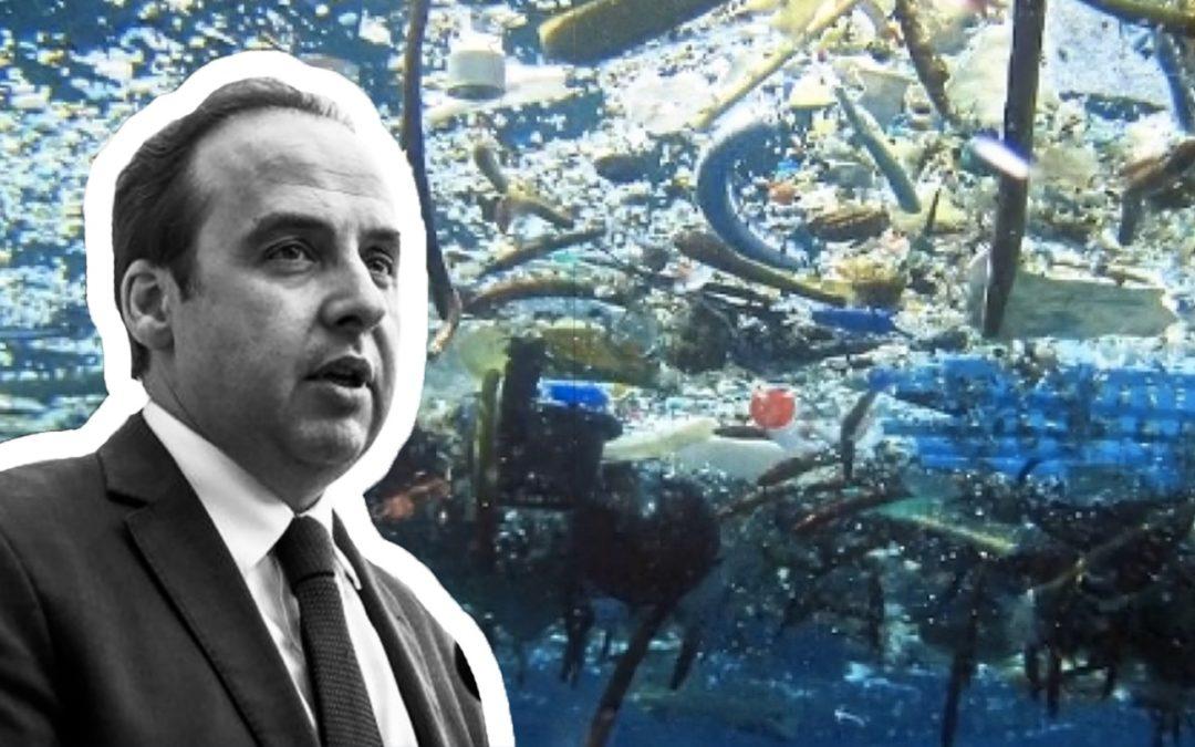 Un grand projet pour l'Europe : une croisade contre le continent plastique