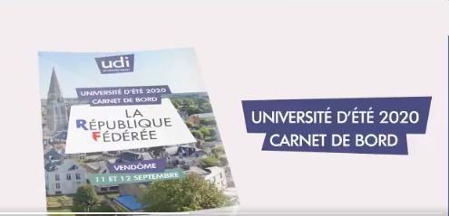 Université d'été 2020 de l'UDI : le programme