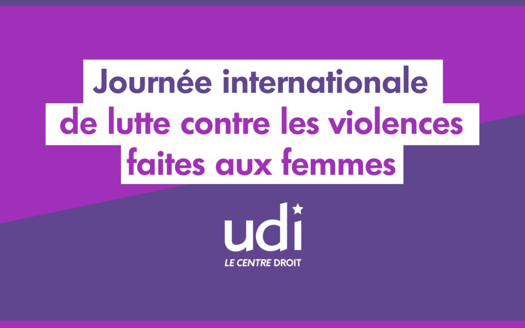 Pour en finir avec les violences sexuelles et sexistes : l'engagement de l'UDI
