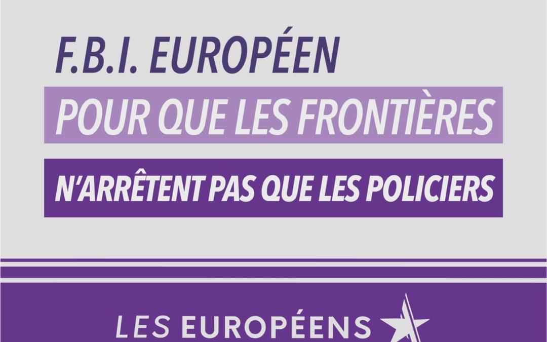 FBI et parquet européens : la vision avant-gardiste de Jean-Christophe Lagarde saluée, coup sur coup, au Parlement européen et à l'Assemblée nationale !